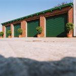 Systemprofi24 Garagentor grün