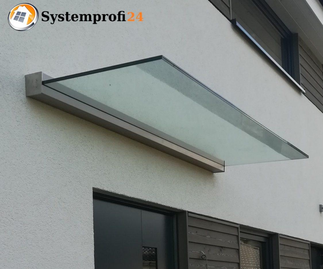 Systemprofi24 - Vordach aus Glas
